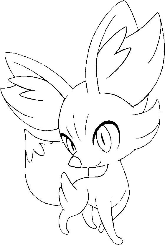 Coloriages Pokemon Feunnec Dessins Pokemon