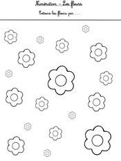 Fiches a imprimer activites maternelle printemps - Fleurs printemps maternelle ...